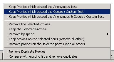 proxies test