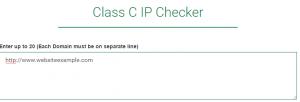 c class checker