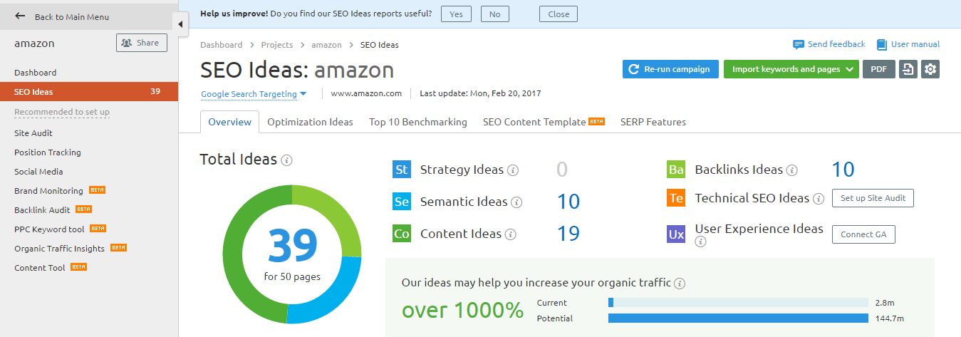 SEO Ideas