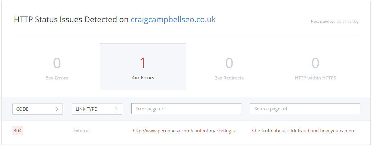 Woo Rank Crawling your site