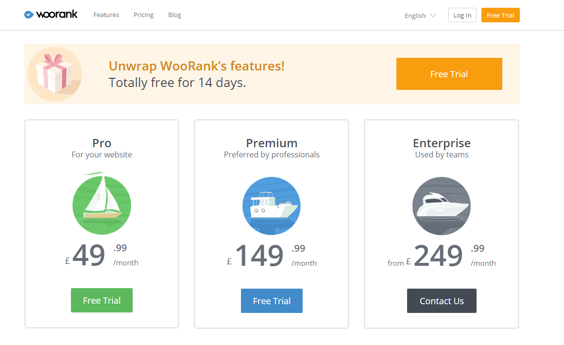 WooRank Pricing