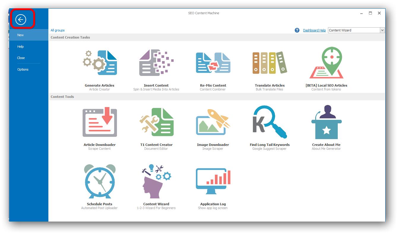 SEO Content Machine Publishing Files