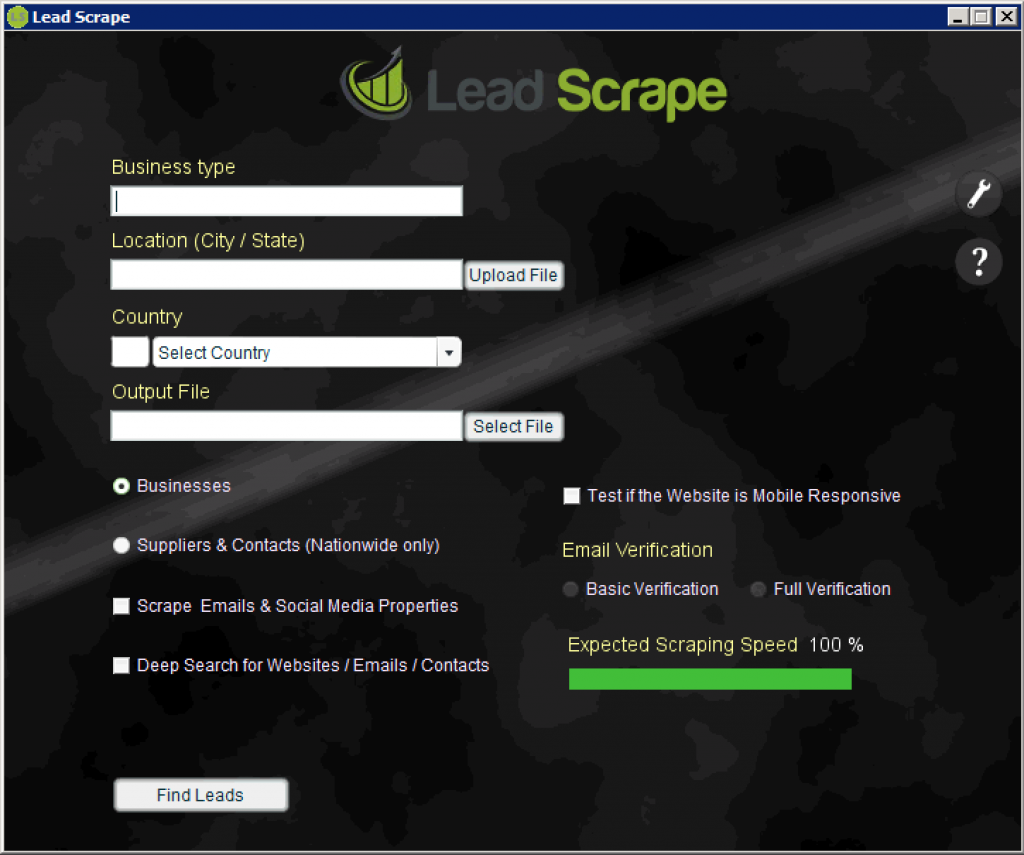 Leadscrape Scraping