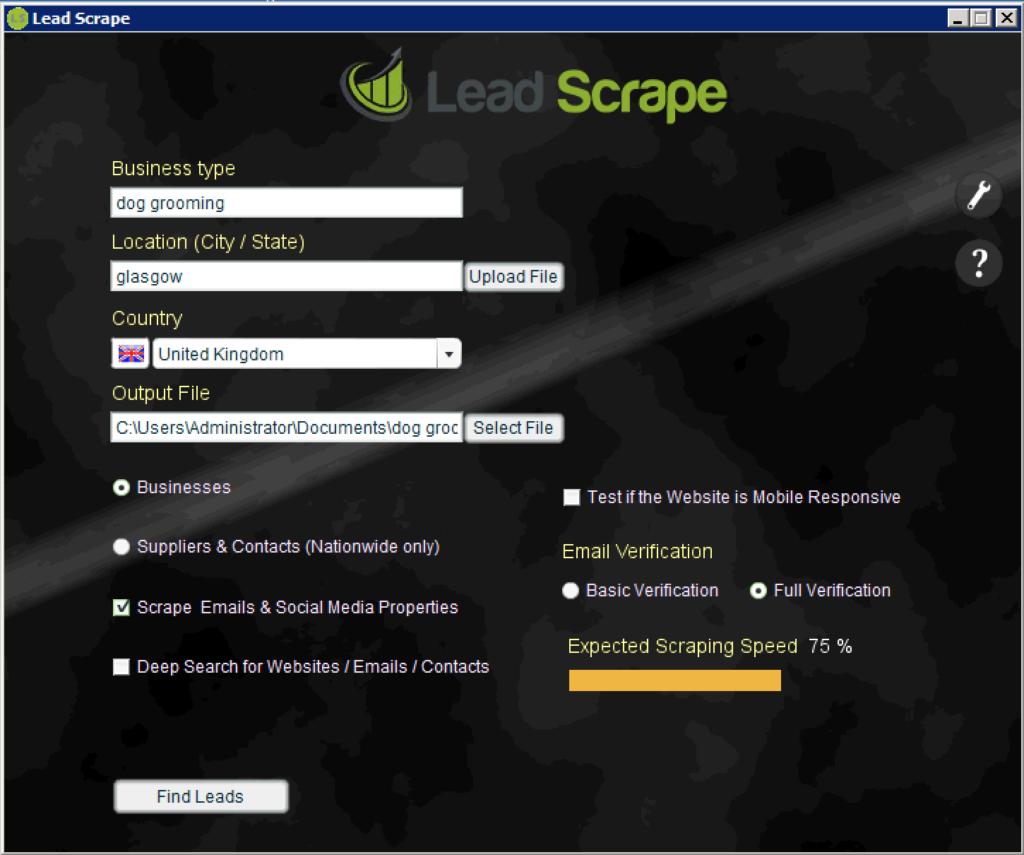 Leadscrape