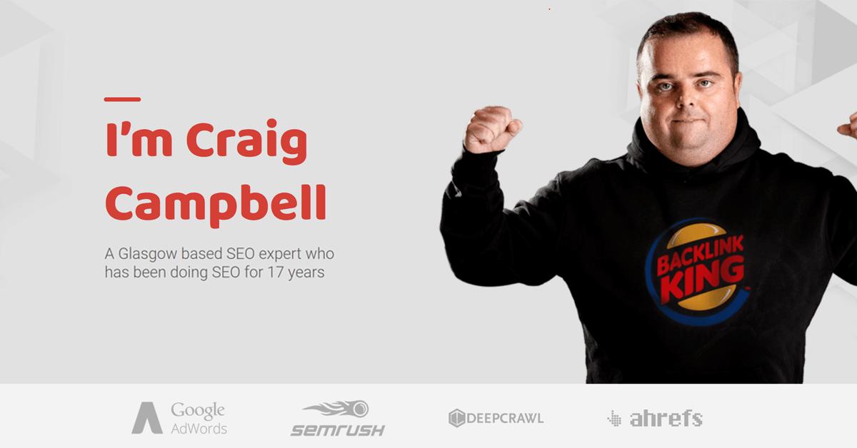 SEO Glasgow, Internet Marketing Blog, Craig Campbell SEO |