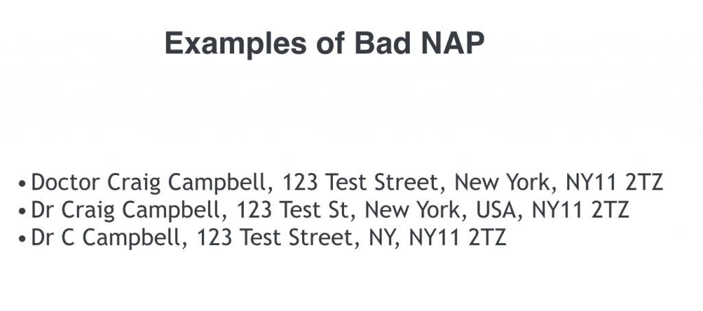 Bad NAP