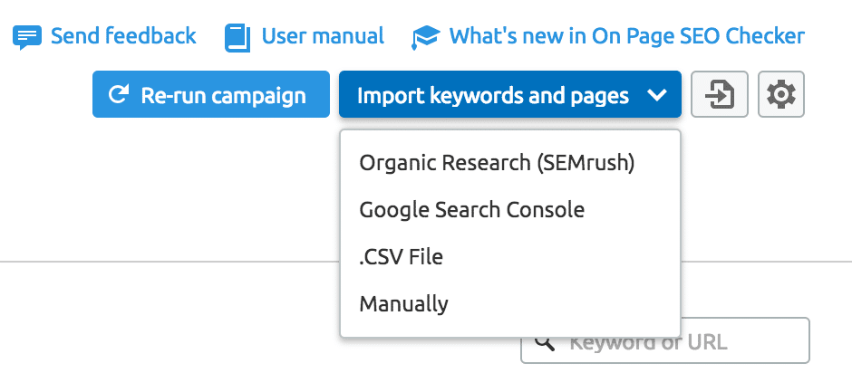 Import Keywords