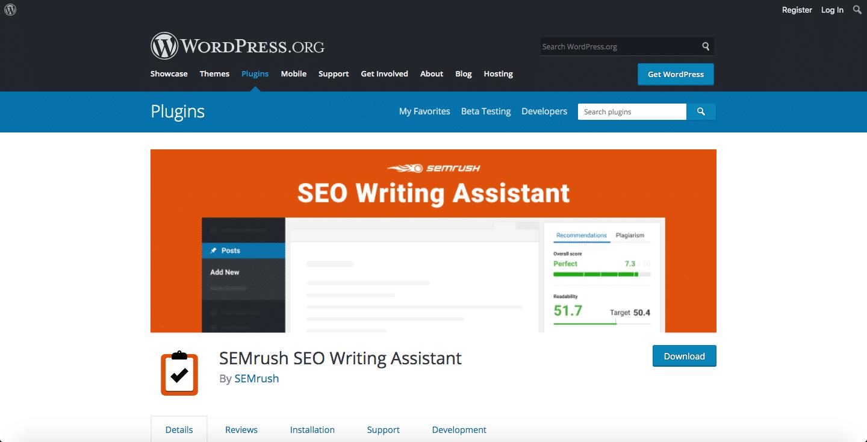 seo writing assistant wordpress