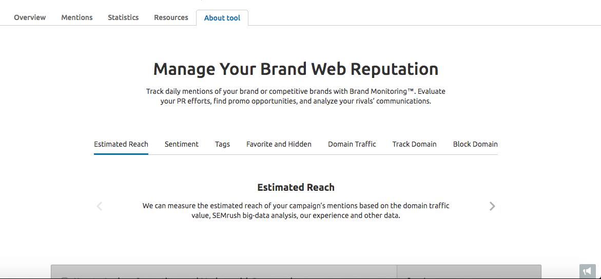 web reputation management