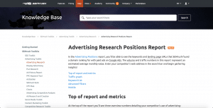 Advertising Research tool 3