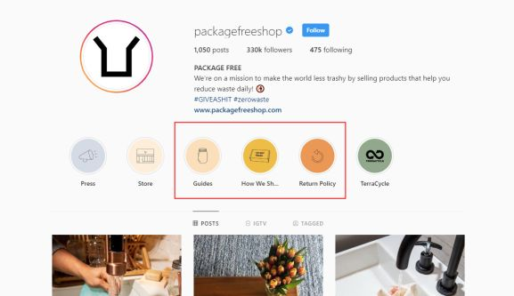 make money instagram - as business owner - package free shop