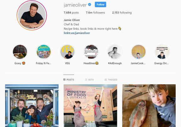 make money instagram - can you make money - jamie oliver