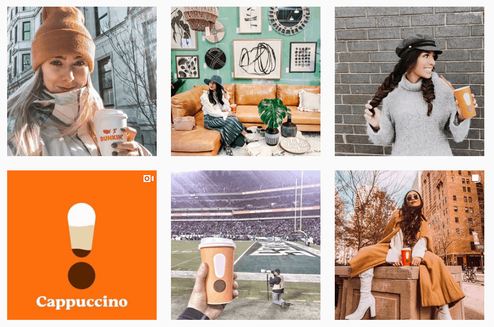 influencer marketing - how effective - dunkin instagram