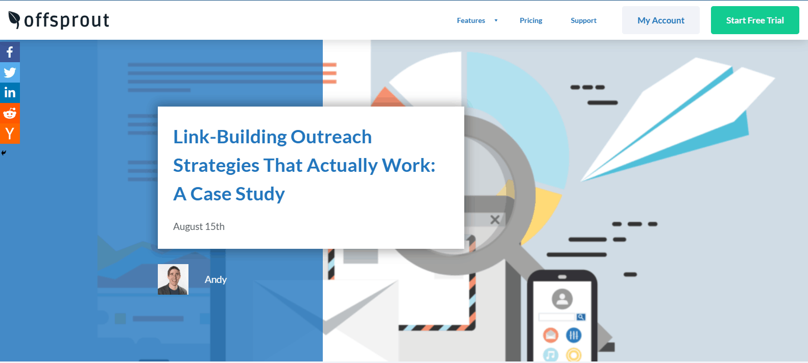 blogger outreach - outreach examples - offsprout