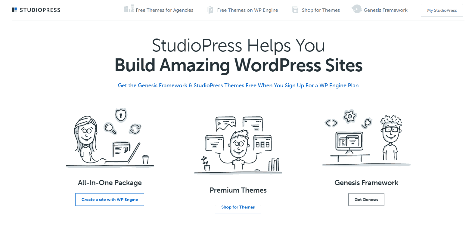complete guide blog - installing theme - studiopress