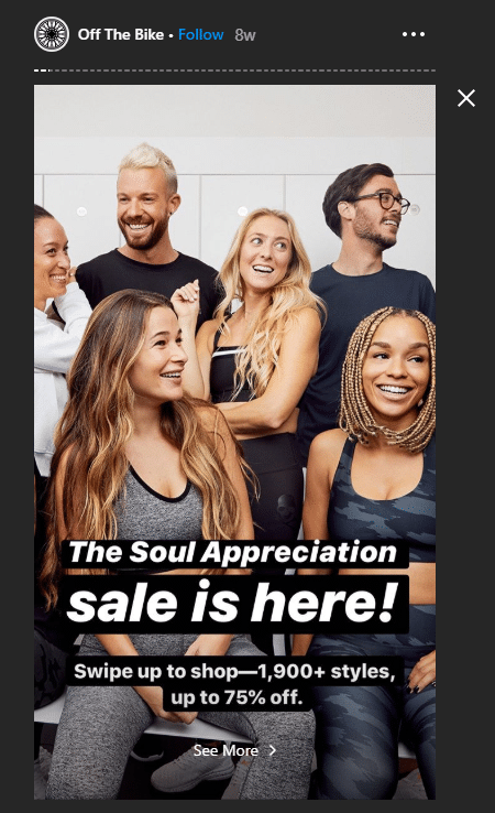 ephemeral content - 2 why people love ephemeral - soul cycle