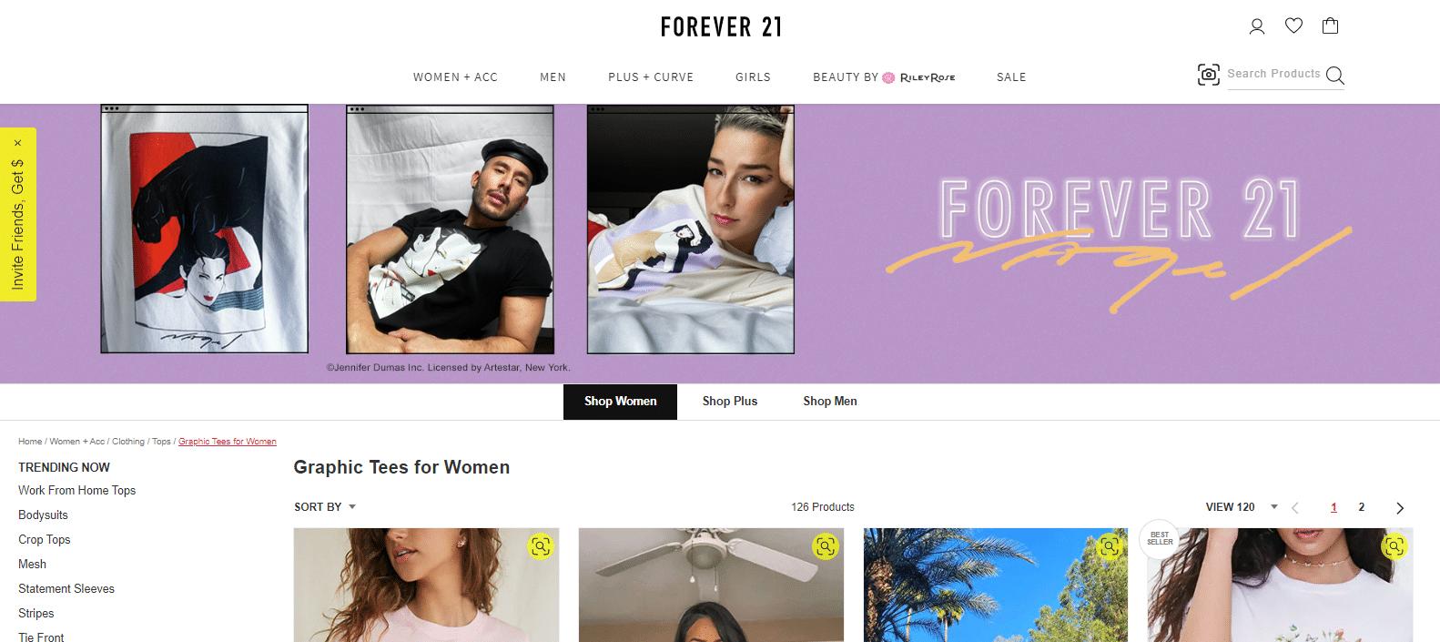ephemeral content - 3 tips - forever 21 shop