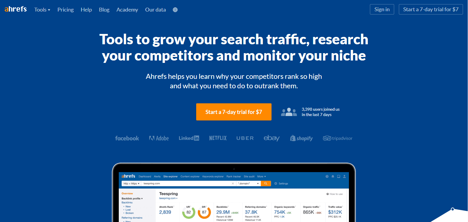 link audit - 1 gather links - ahrefs_1