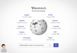 Wikipedia Backlinks: What you should know