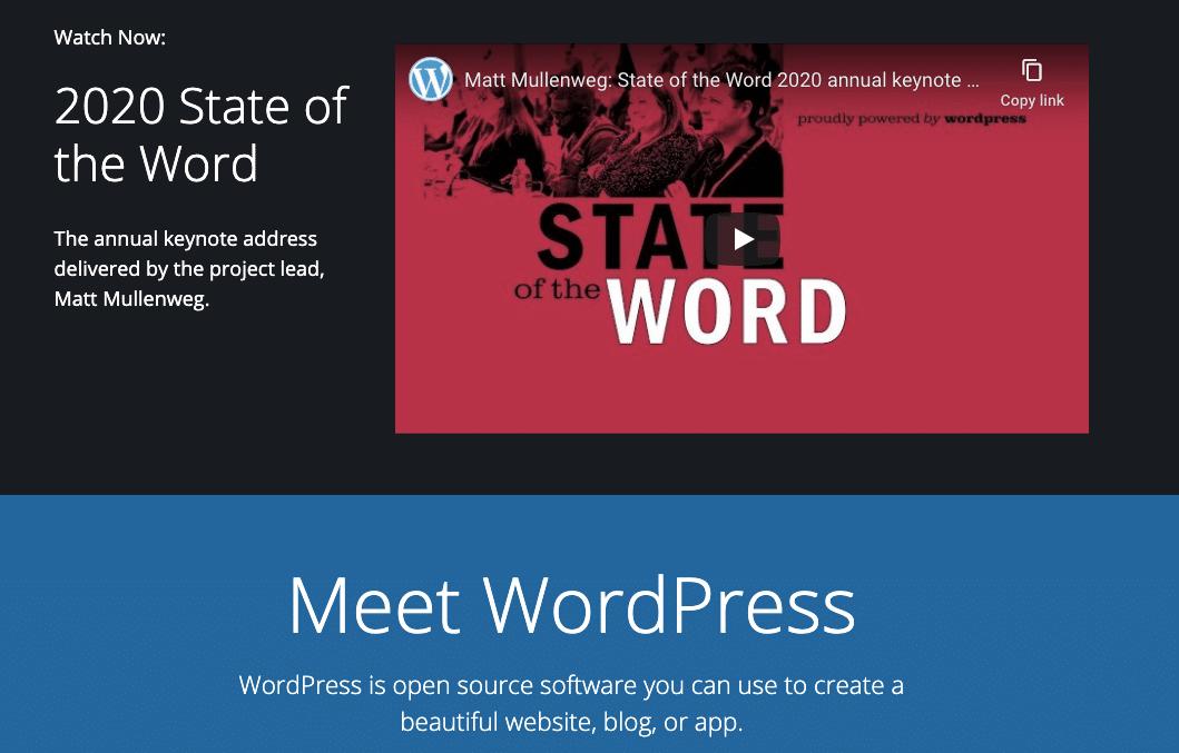 wordpress org blogging platform
