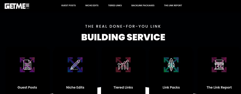 best link building services - getmelinks