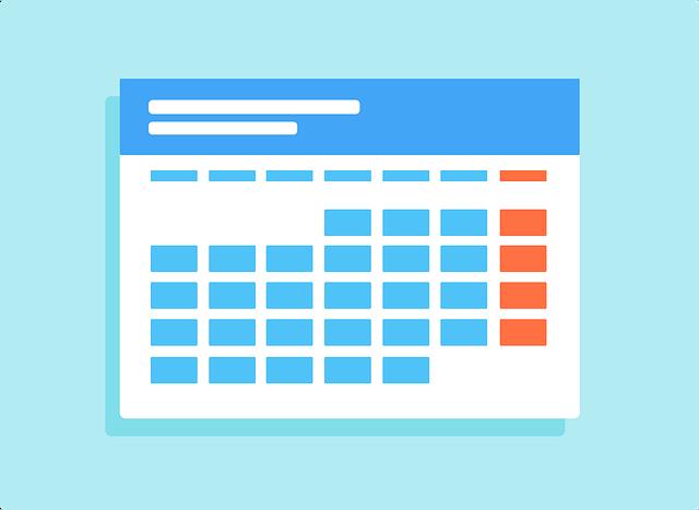 increase blog traffic - editorial calendar